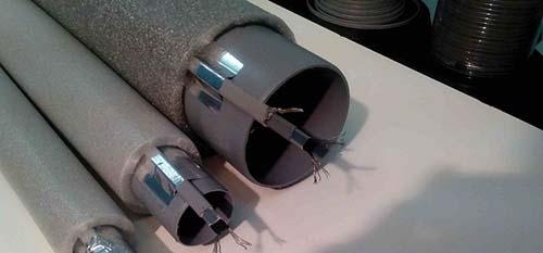 Кабель для труб ливневой канализации: правила монтажа нагревательного элемента