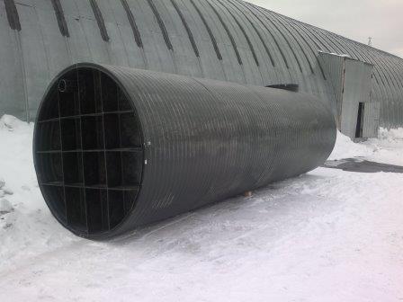 Установка  емкостного оборудование для очистных сооружений в  г. Тамбов