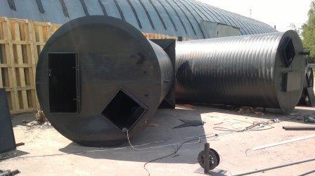 Канализационно-насосная станция нефтебазы в г. Кострома