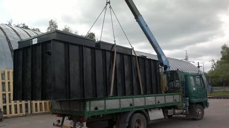 Очистные сооружения для складского комплекса в Московской области