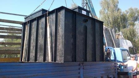 Очистные сооружения для АЗС в Архангельске