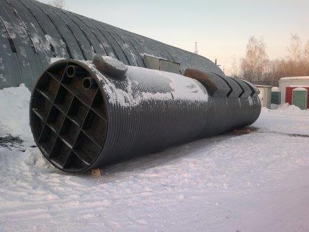 Очистные сооружения для производственного предприятия в г. Иваново