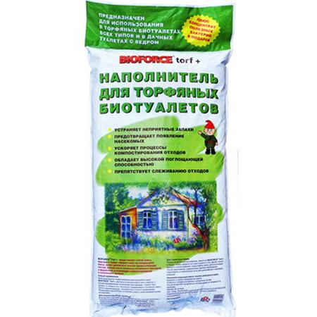 Наполнитель для компостирующих дачных туалетов BIOFORCE Torf+