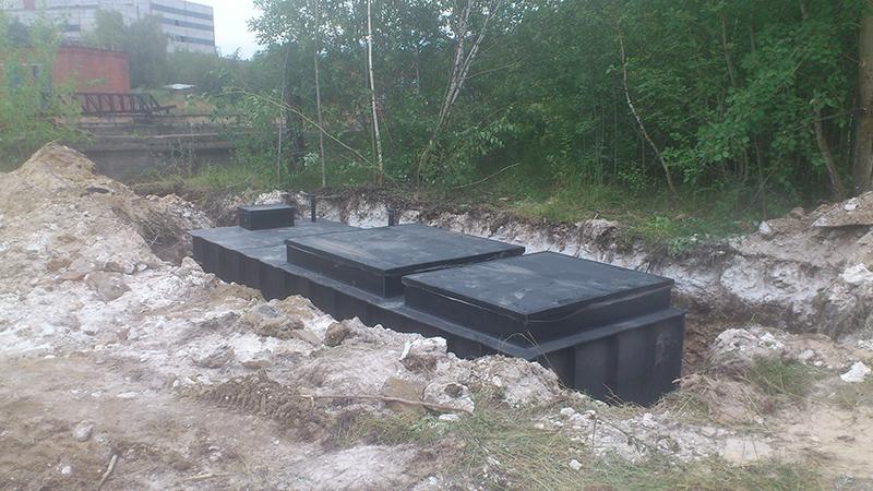 Очистное сооружение для завода «Волма» в Воскресенском районе