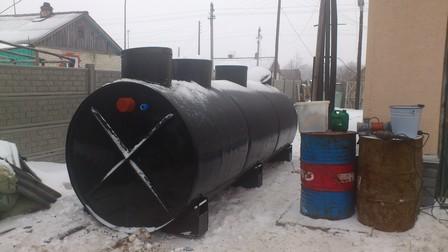 Очистные сооружения для заповедника в Нижегородской области