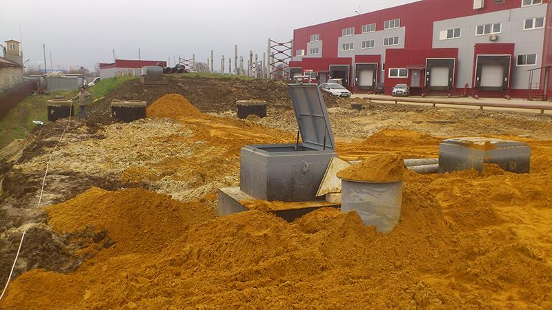 Очистное сооружение для сервисного центра в Ногинском районе