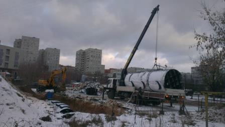 Очистные сооружения для аэропорта «Быково»