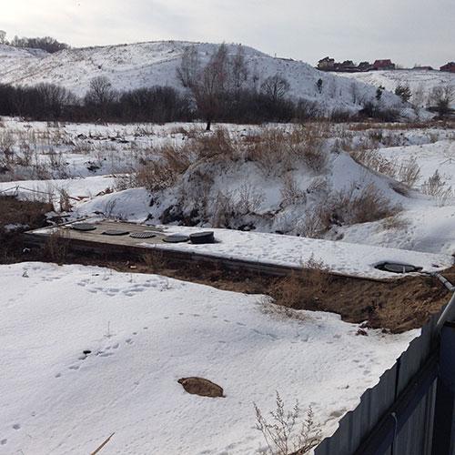 Очистные сооружения для общежития в Рязанской области