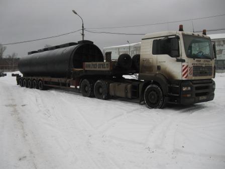 Очистные сооружения для производственного предприятия в г. Курск