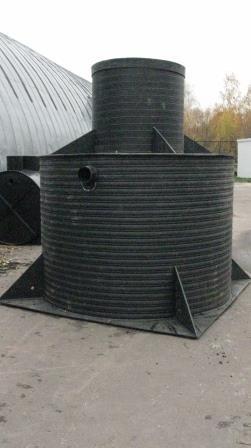Установка жироуловителей для очистного оборудования кафе в г. Владимир