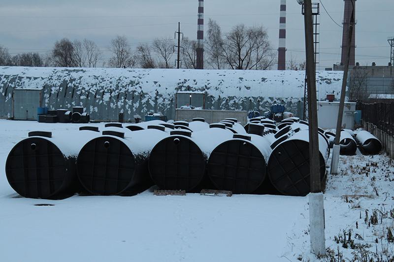 Очистное сооружение для производственного комплекса в г. Можайск